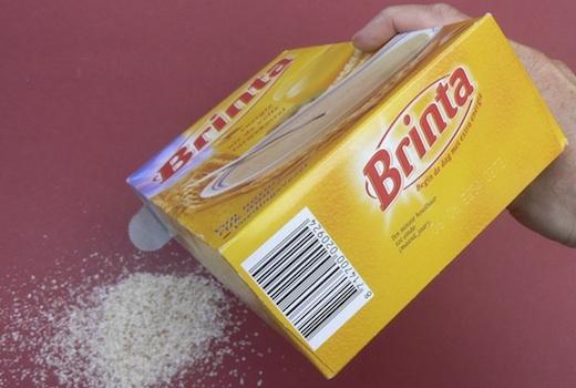 Brinta-verpakking