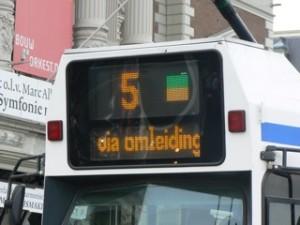 Bestemming tram