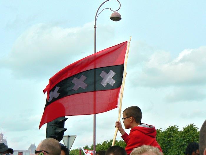 Huldiging Ajax op Museumplein, 15 mei 2011