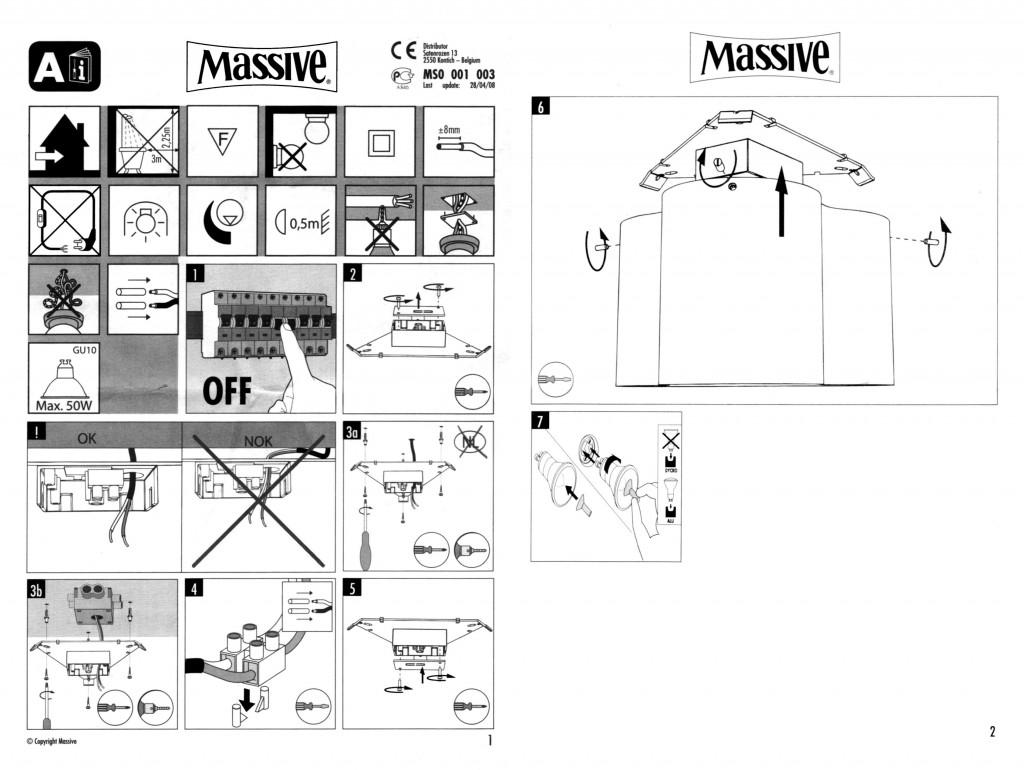 Montagehandleiding armatuur