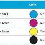 Kleurdefinities RGB en CMYK