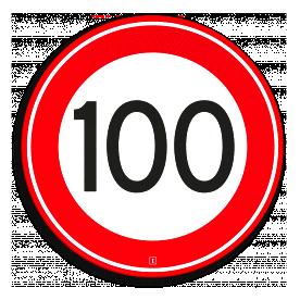 Snelheidsbord100