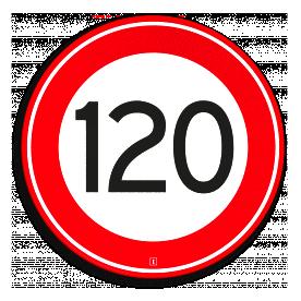 Snelheidsbord120